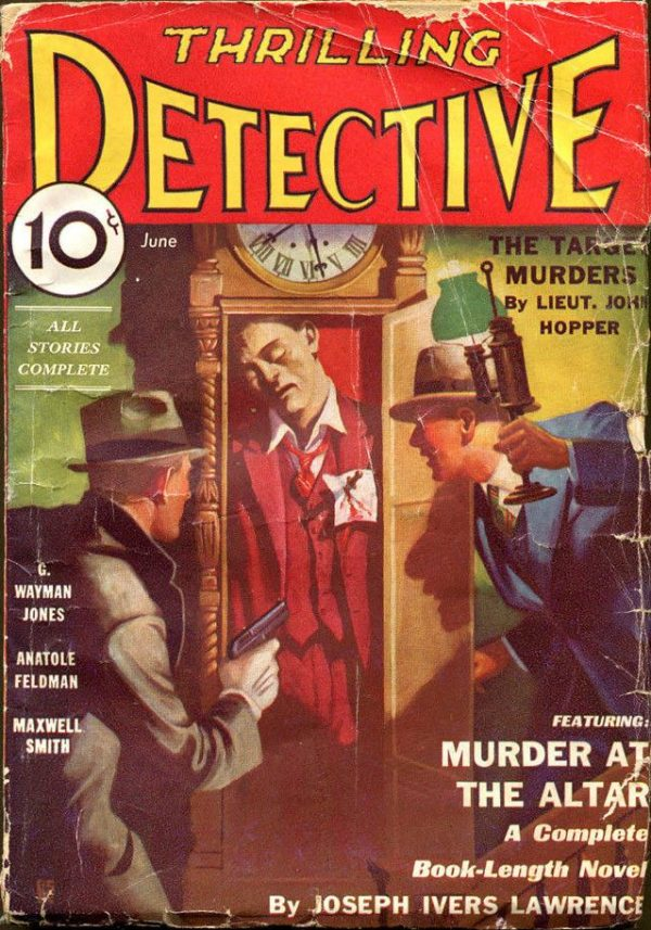 THRILLING DETECTIVE, June 1933