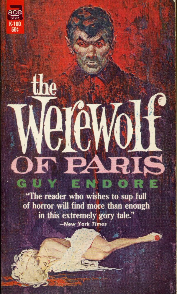 The Werewolf of Paris Ace Horror 1960