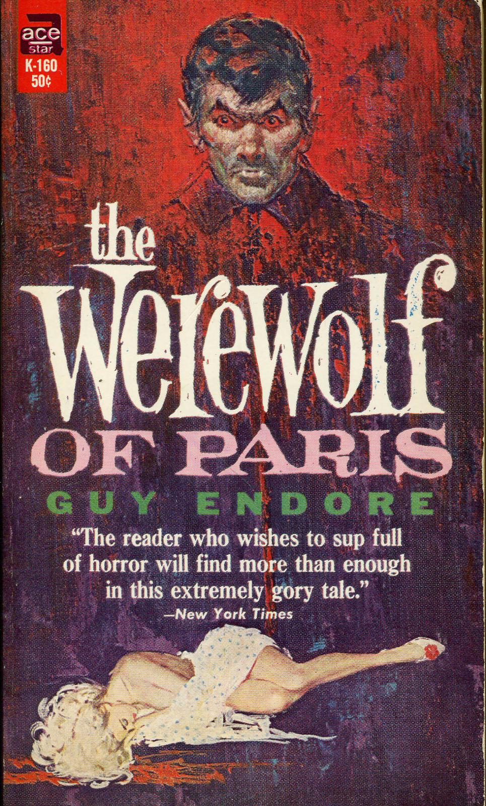 Resultado de imagem para The Werewolf of Paris