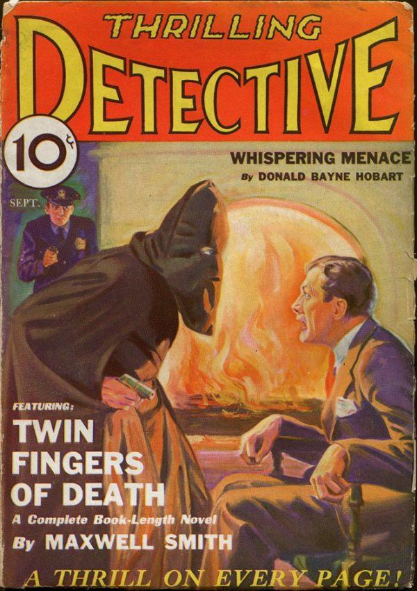 Thrilling Detective September, 1932