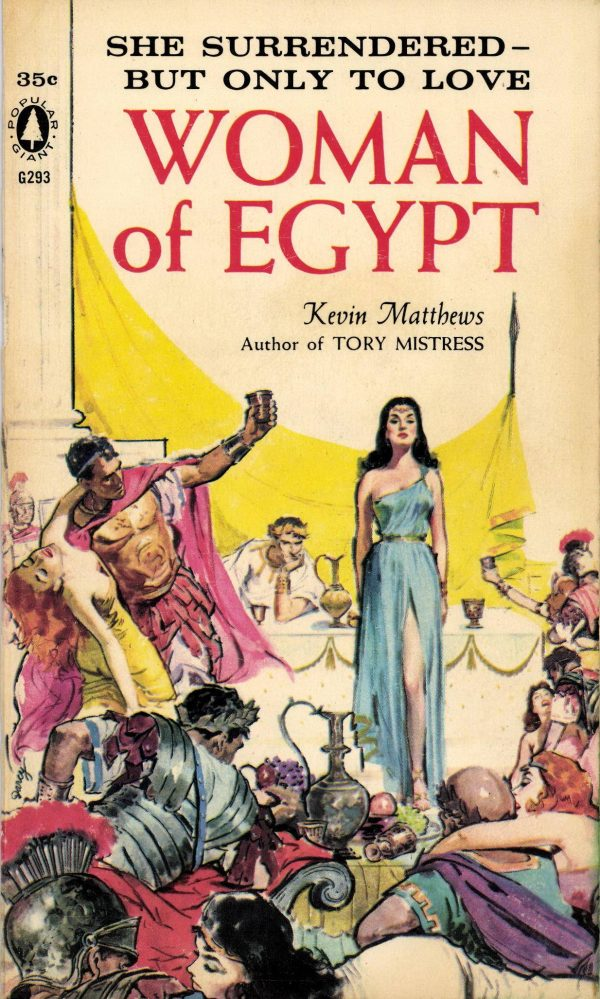 Woman of Egypt Kevin Matthews Gardner F Fox front cover