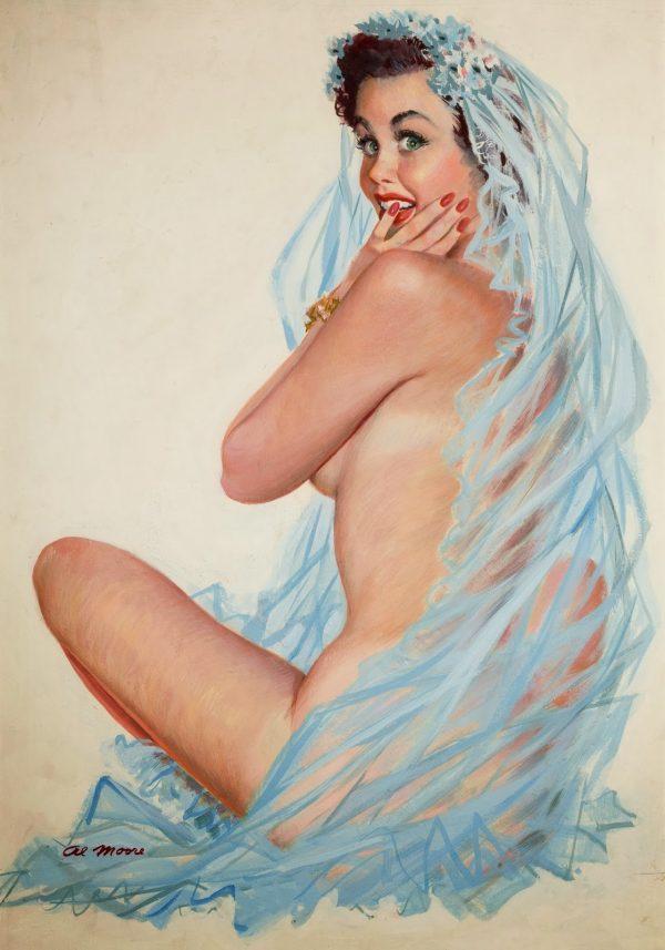 1953 june Al Moore original