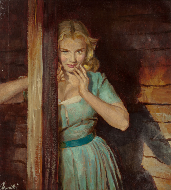 A Swell-Looking Girl, paperback cover
