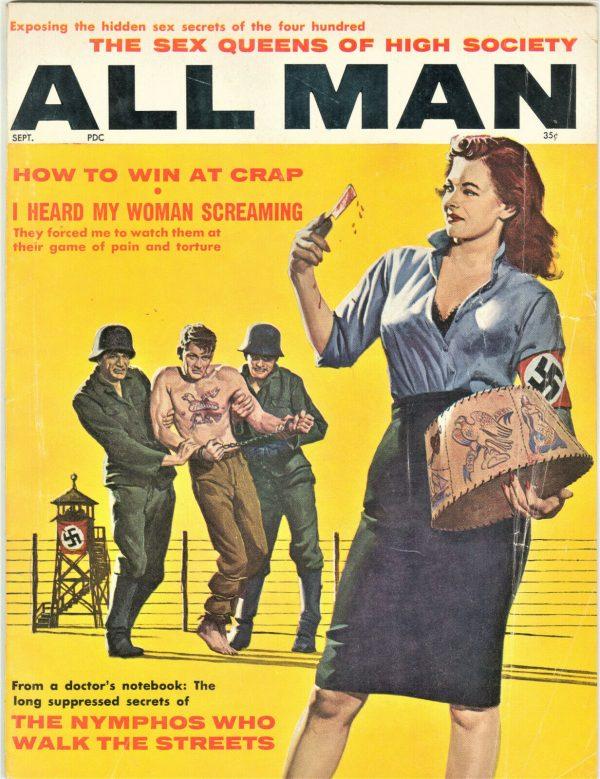 All Man Magazine September 1961