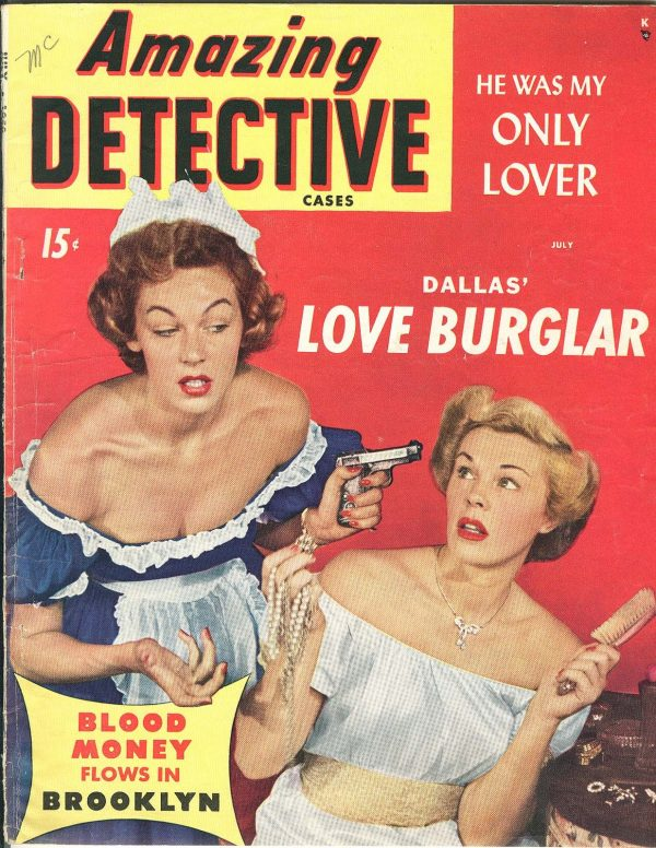 Amazing Detective Cases Vol 10, #2 (July50)