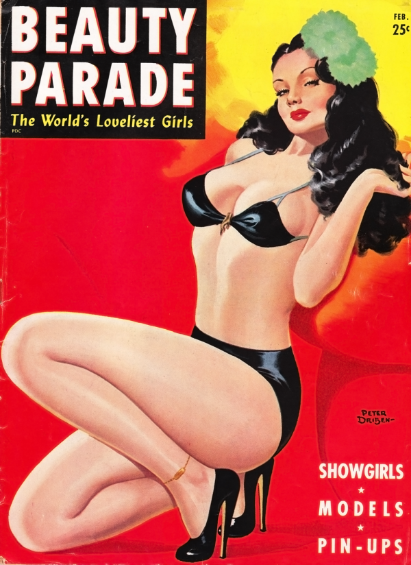 Beauty Parade February 1947