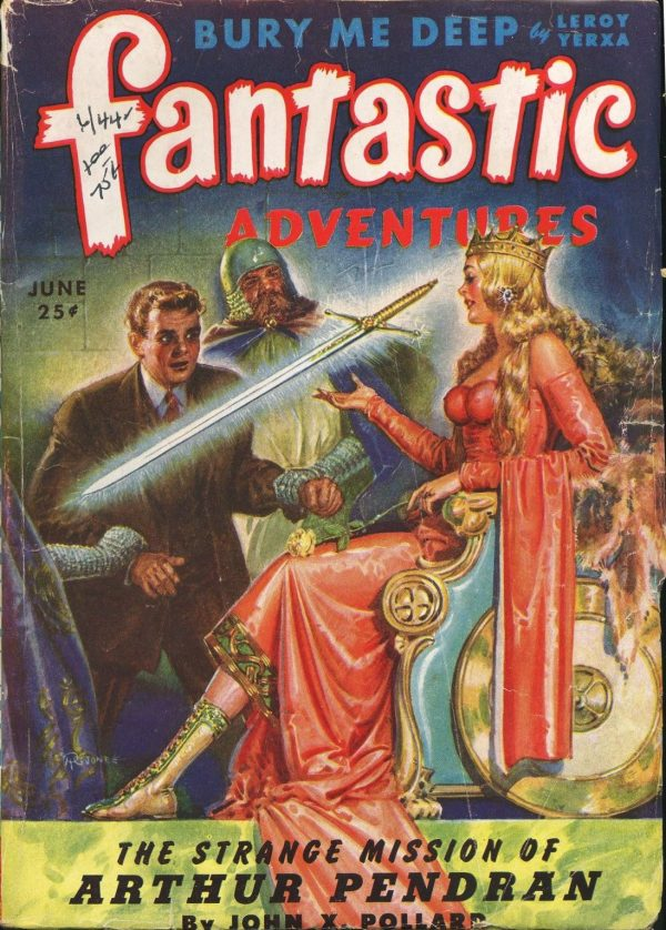 Fantastic Adventures June 1944