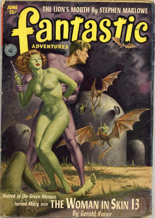 Fantastic Adventures June 1952