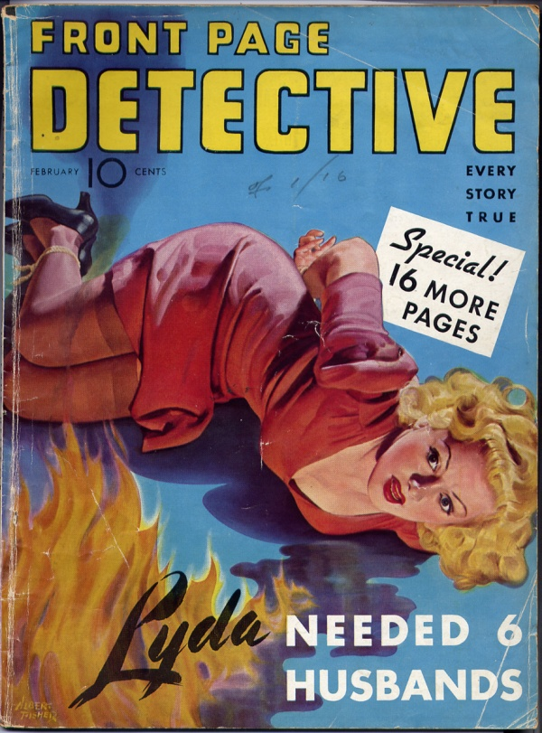 Front Page Detective February 1942