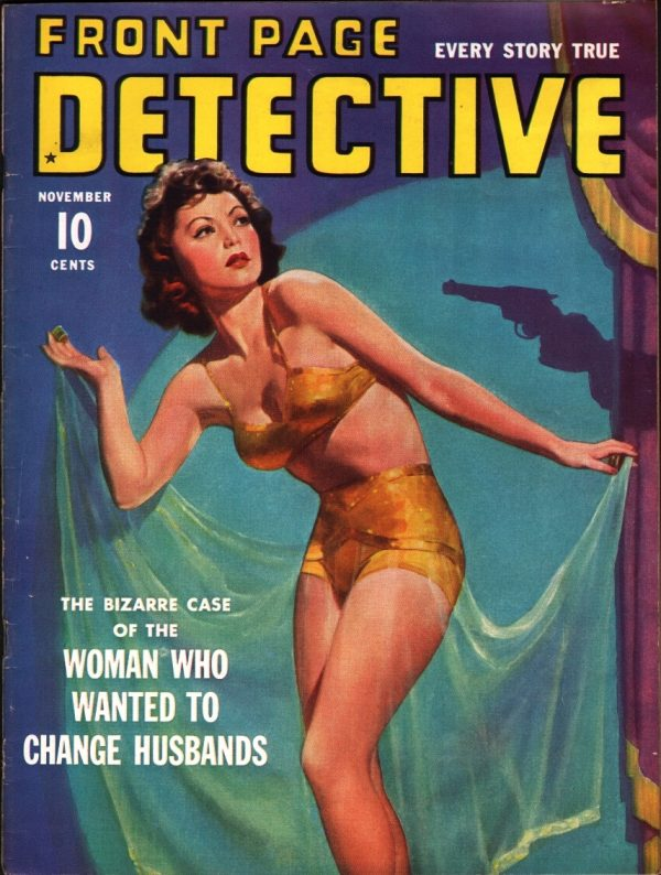 Front Page Detective September 1940