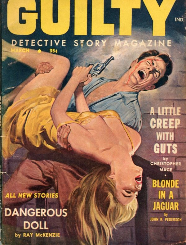 Guilty Detective Story Magazine, March 1960