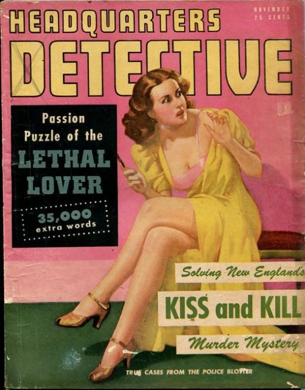 Headquarters Detective -November 1947