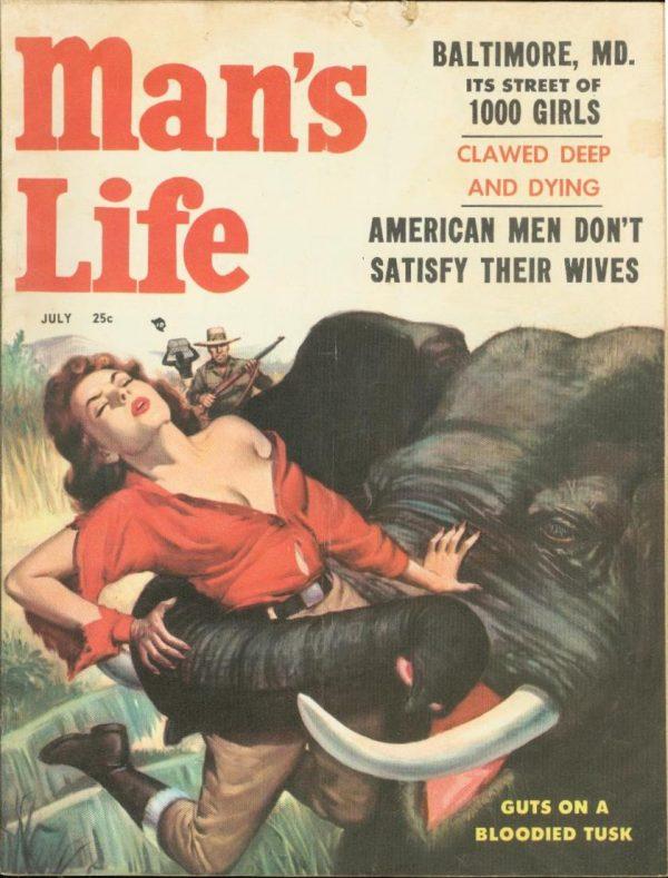Man's Life July 1957