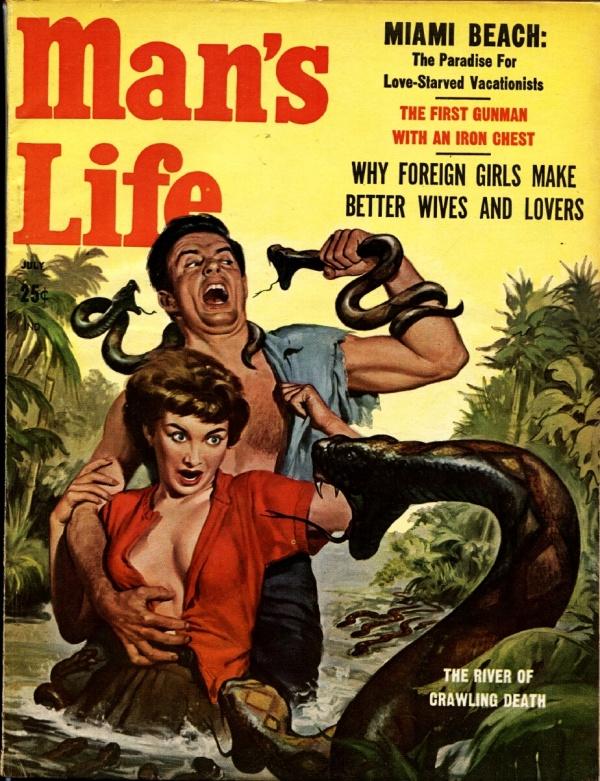Man's Life July 1958