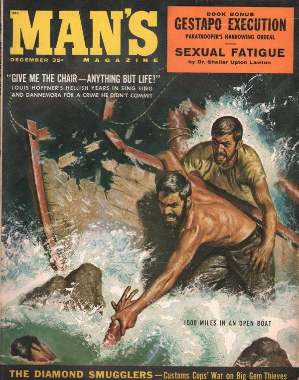 Man's Magazine December 1960