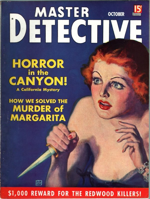 Master Detective - October 1937