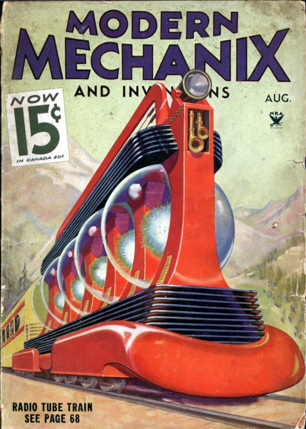 Modern Mechanix August 1934