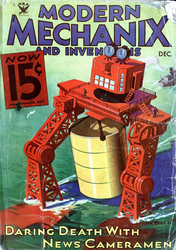 Modern Mechanix December 1933