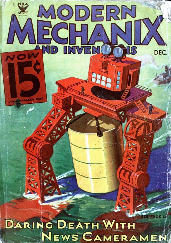 Modern Mechanix December 1933