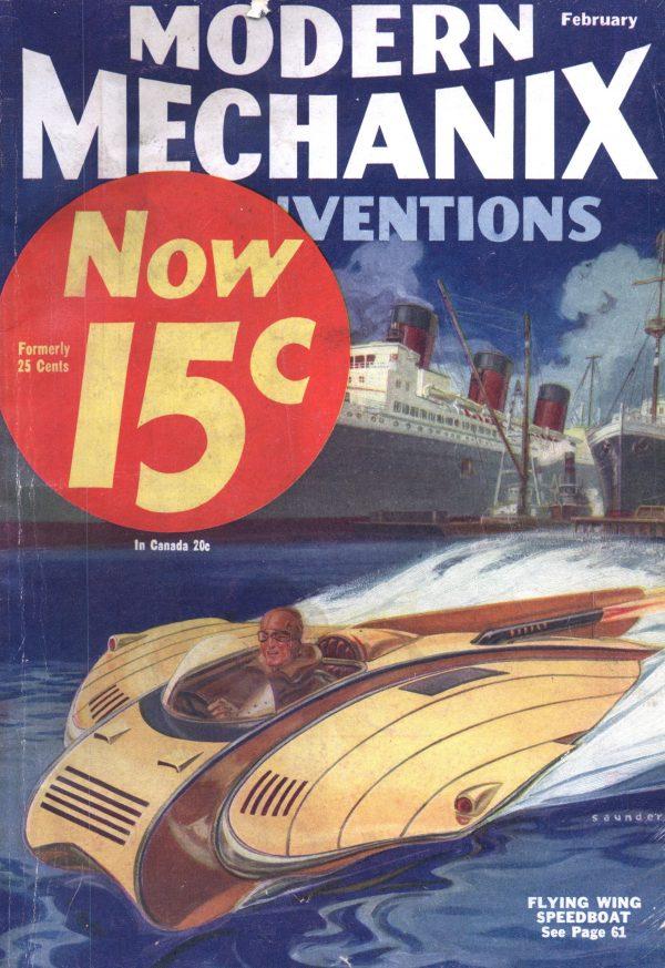 Modern Mechanix February 1933