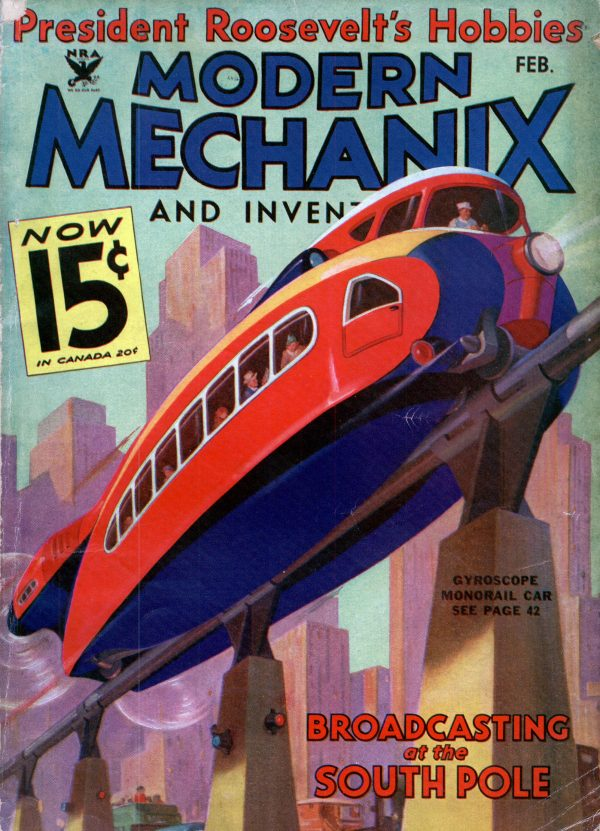 Modern Mechanix February 1934