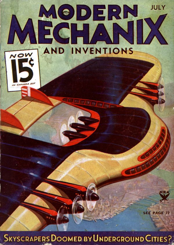 Modern Mechanix July 1934