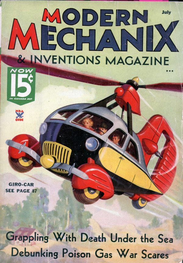Modern Mechanix July 1935