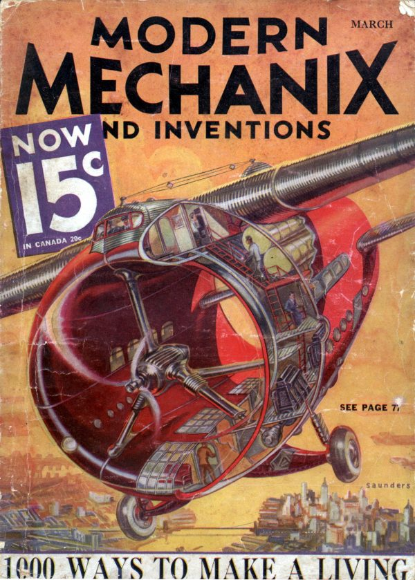 Modern Mechanix March 1933