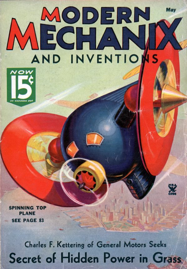 Modern Mechanix May 1935