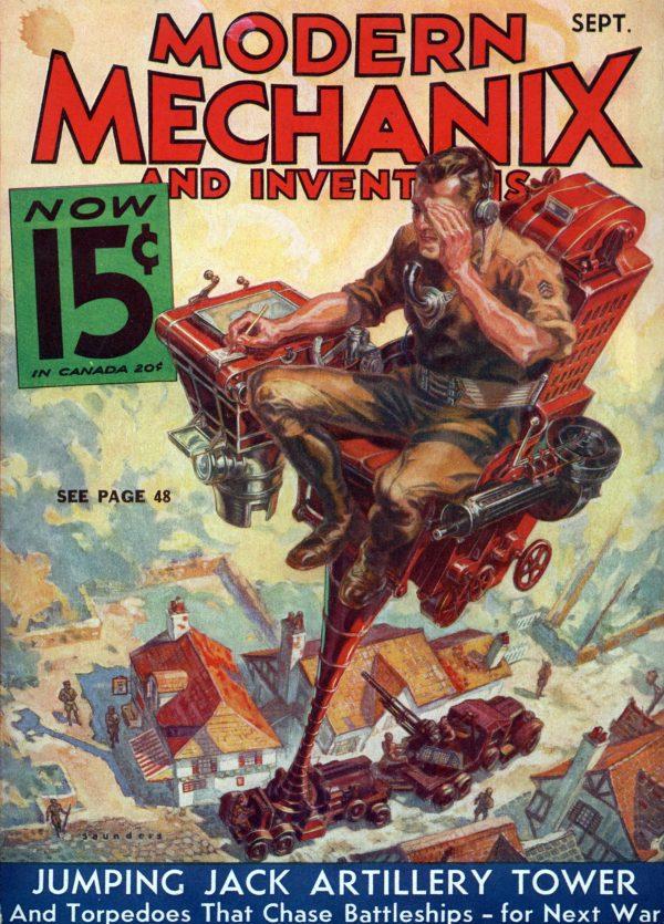 Modern Mechanix September 1933