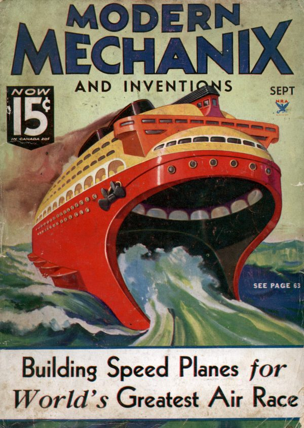 Modern Mechanix September 1934