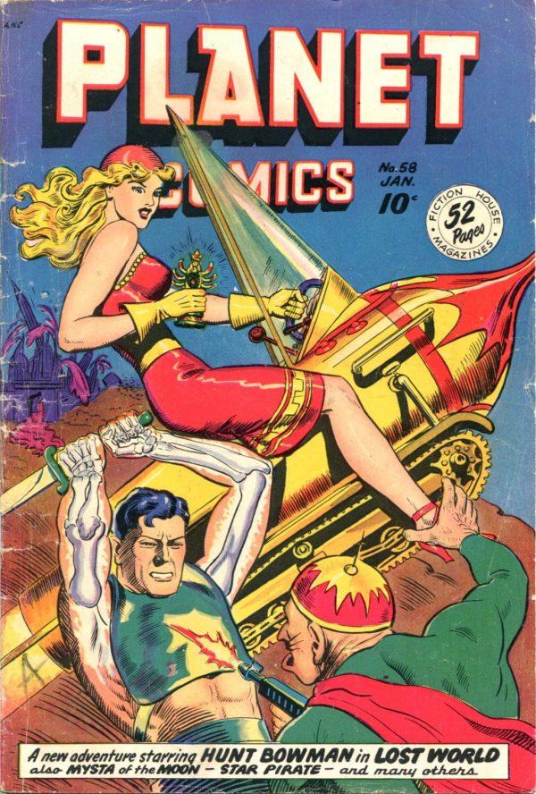 Planet Comics January 1949