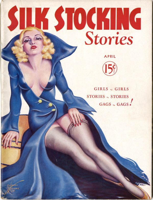 Silk Stockings Stories April 1937