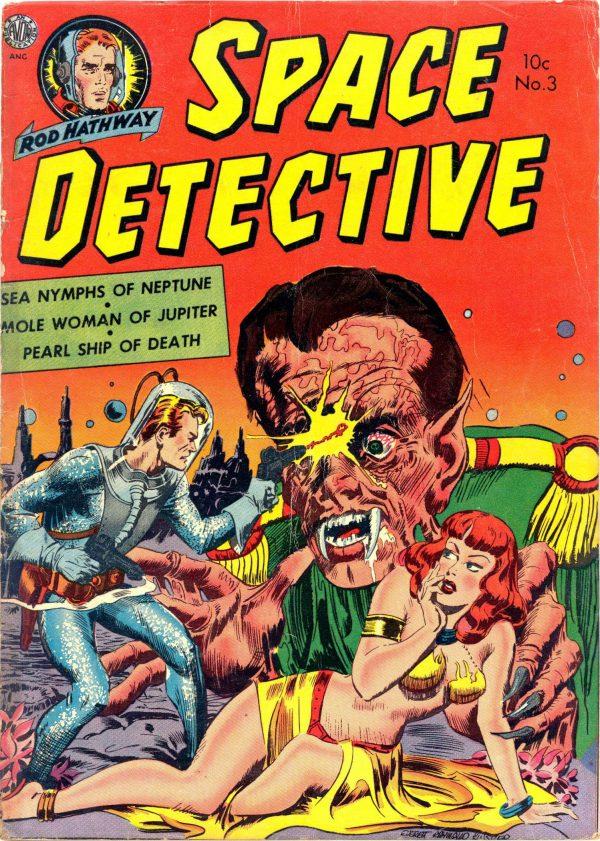 Space Detective #3 (Avon, 1952)