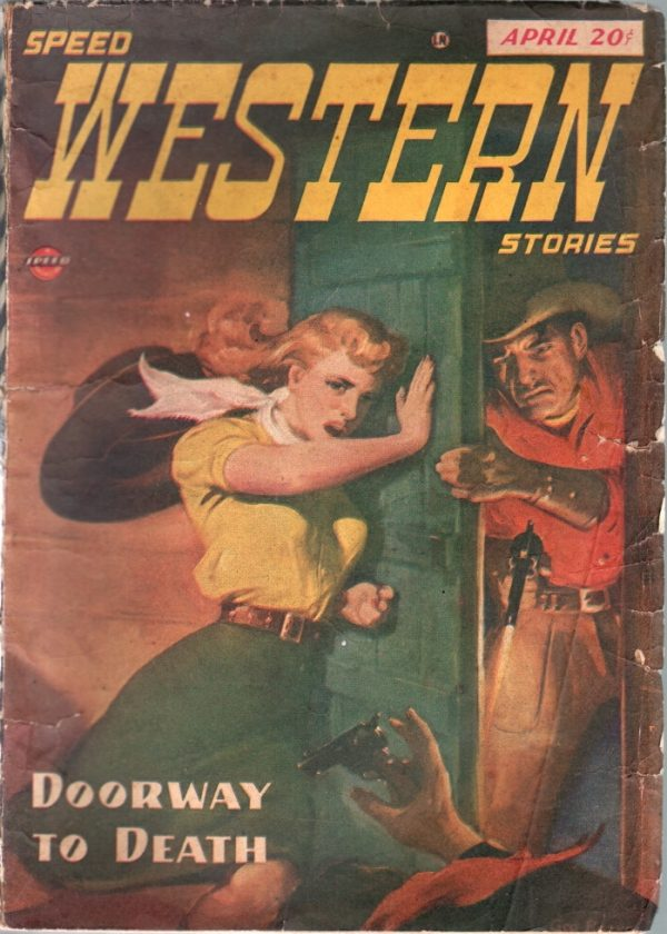 Speed Western Stories April 1947