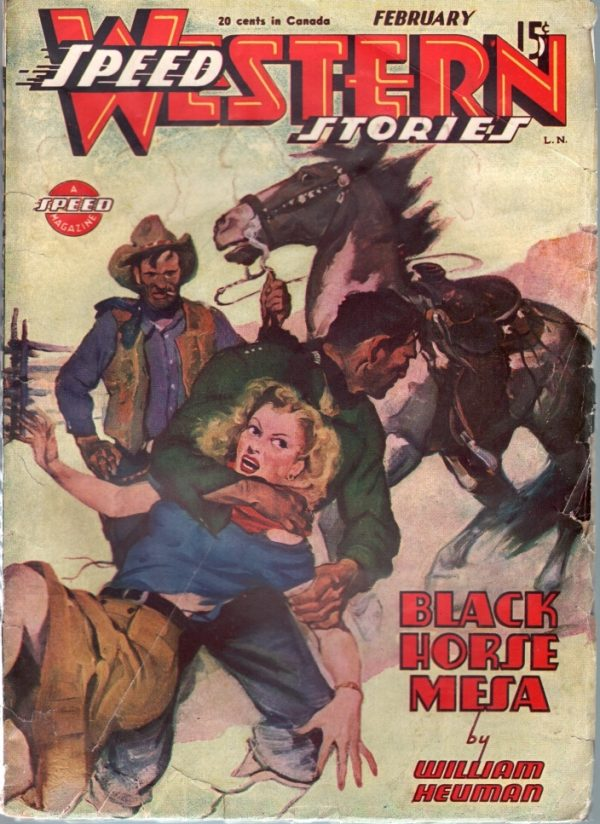 Speed Western Stories February 1946