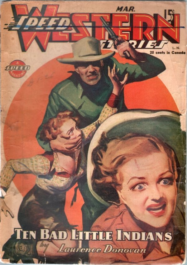 Speed Western Stories March 1945