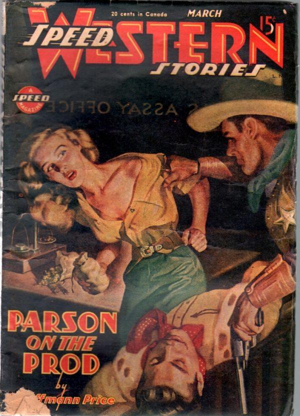Speed Western Stories March 1946