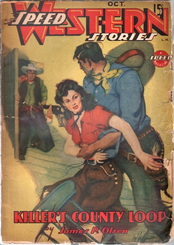 Speed Western Stories October 1944