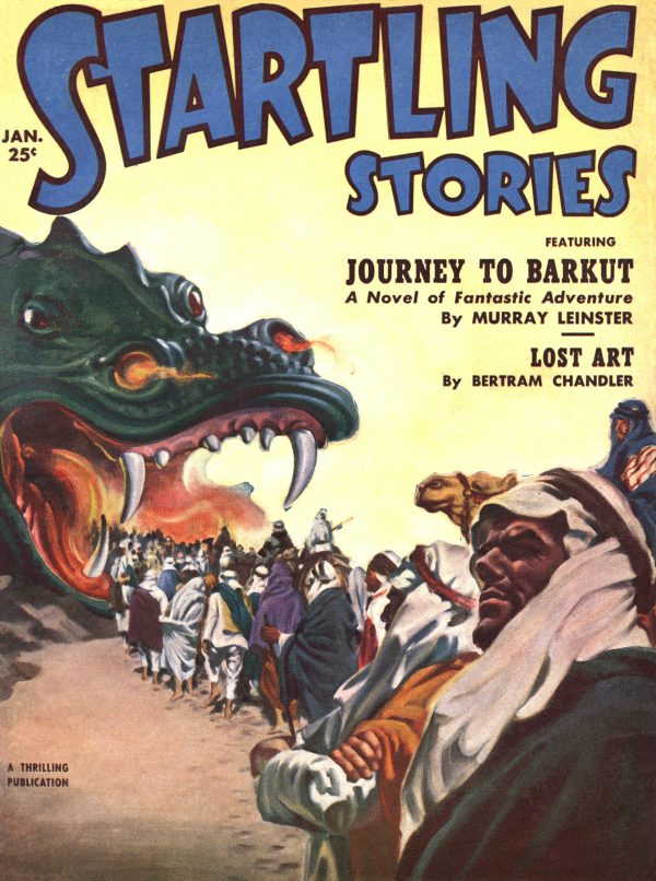 Startling Stories January 1952