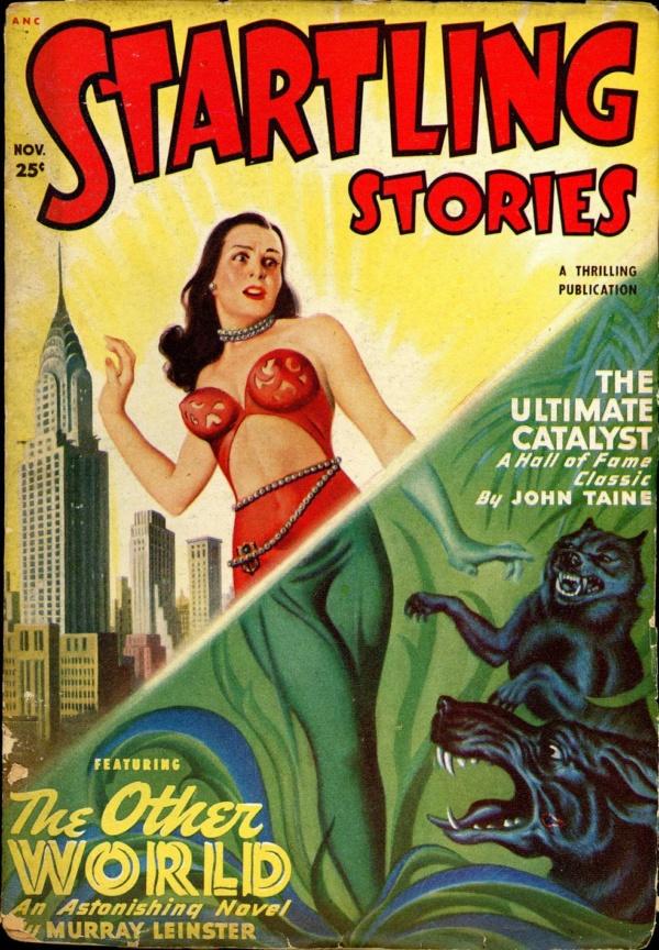 Startling Stories November 1949