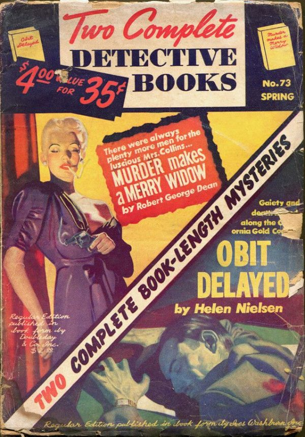 TWO COMPLETE DETECTIVE BOOKS #73, Spring 1953