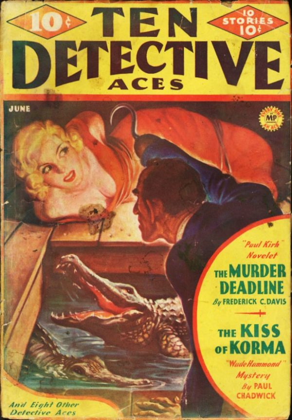 Ten Detective Aces - June 1936