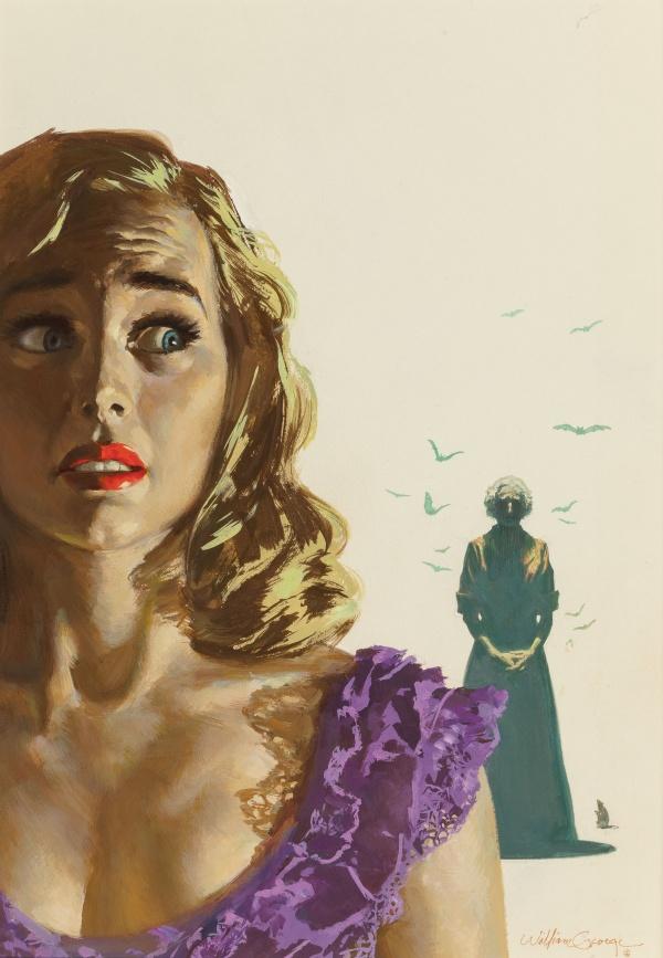 The Haunted Lady by Mary Roberts Rinehart, Dell Books, No. 814, 1954.