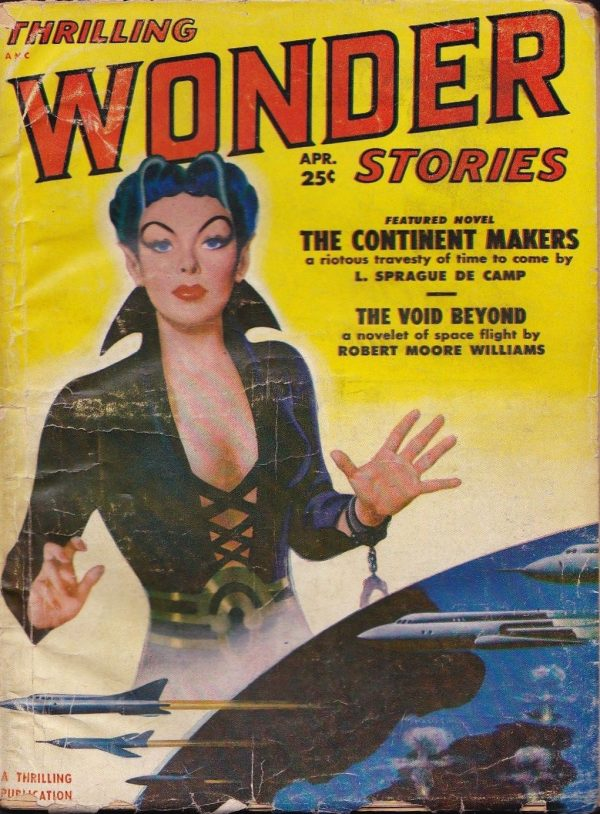 Thrilling Wonder Stories April 1951