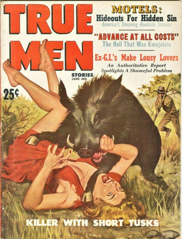 True Men Magazine June 1959
