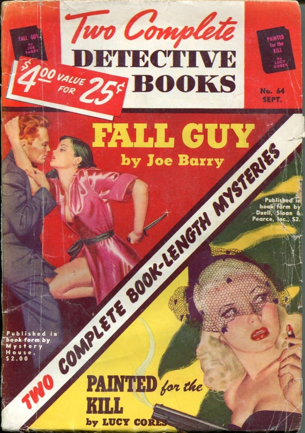 Two Complete Detective Books September 1950