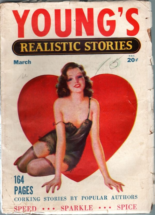 Young's Realistic Stories Magazine March 1941