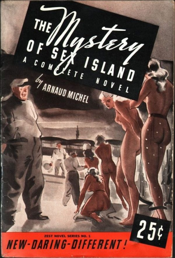 Zest Novel Series-The Mystery Of Sex Island September 1937
