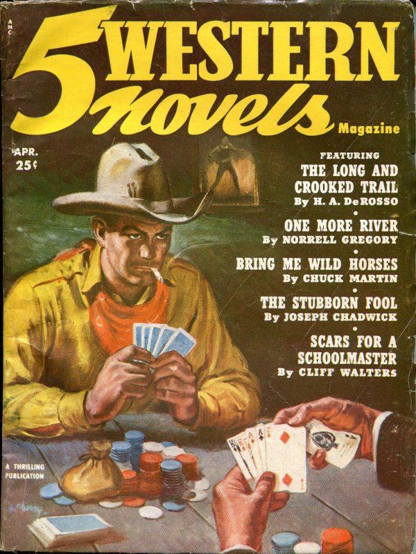 5 Western Novels April 1952